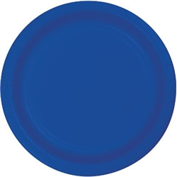 Blue Lunch Plates (24/pkg)
