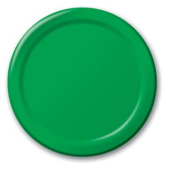 Green Lunch Plates (24/pkg)