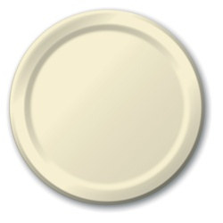 Ivory Lunch Plates (24/pkg)
