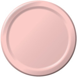 Pink Lunch Plates (24/pkg)