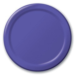 Purple Lunch Plates (24/pkg)