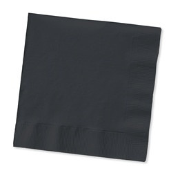 Black Lunch Napkins (50/pkg)