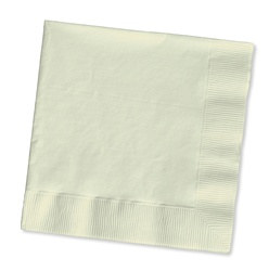 Ivory Lunch Napkins (50/pkg)