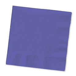 Purple Lunch Napkins (50/pkg)