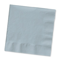 Silver Lunch Napkins (50/pkg)