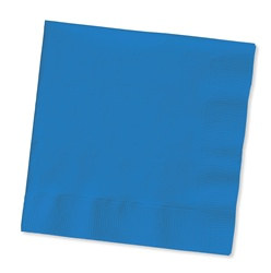 Blue Beverage Napkins (50/pkg)