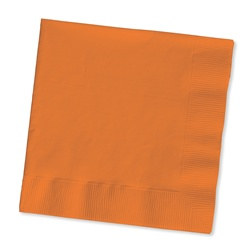 Orange Beverage Napkins (50/pkg)