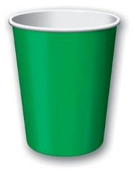 Green Hot/Cold Cups (24/pkg)