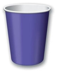 Purple Hot/Cold Cups (24/pkg)