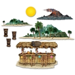 Tiki Bar and Island Props