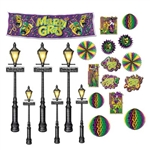Mardi Gras Décor and Street Light Props