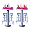 Soda Shop Tables and Stools Props