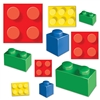 These Building Blocks Cutouts are perfect for younger children's birthday parties and elementary school parties. These cutouts look like a popular children's toy and the cutouts measure anywhere from 4 inches to 11.25 inches. Comes 20 cutouts per package.