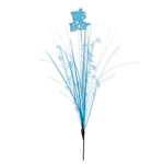 This It's A Boy Metallic Star Spray is the perfect party supply for a gender reveal party or baby shower. Your table centerpieces will be quite eye catching if you include one of these blue sprays! Measures 23 inches. One per package.