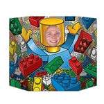 Build fun memories with this Building Blocks Photo Prop. Printed on one side of card stock material, this prop will turn any guest into a block person. Simply show your face in the space provided. Measures 37 inches by 25 inches. Contains one per package.