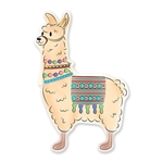 "Hang this 40"" tall Jointed Llama cutout on your wall at your next Llama, Around the World or South of the Border themed party and your guests will want to pet it!  this fully assemble jointed llama makes a great door prize or child's room decoration."