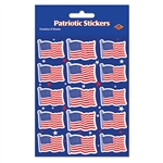 US Flag Stickers (4 sheets/pkg)
