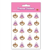 Princess Stickers (4 sheets/pkg)