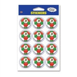 Mexico Soccer Stickers (2 Sheets Per Package)