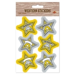 Sheriff Badge Stickers
