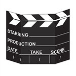 Movie Set Clapboard Photo Prop