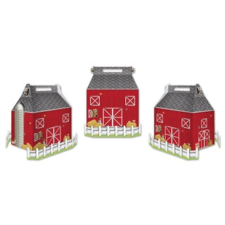 Barn Favor Boxes