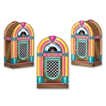 Jukebox Favor Boxes-3 Per Package