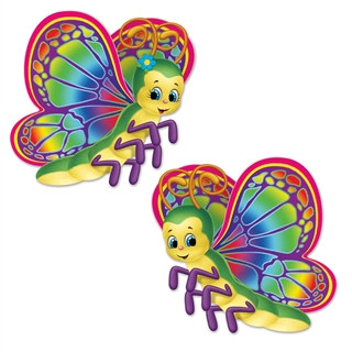 Butterfly Cutouts (2 Cutouts Per Package)