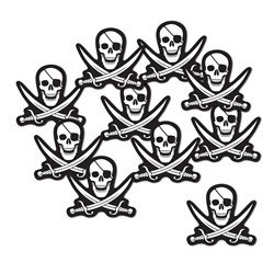 Mini Pirate Cutouts
