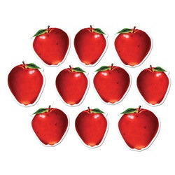 Mini Apple Cutouts (10/pkg)