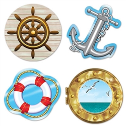 Nautical Cutouts (4/Pkg)