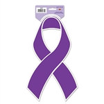 Purple Ribbon Cutout