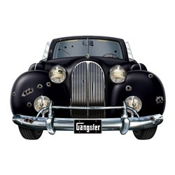 Gangster Car Cutout