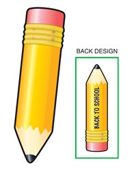 Back-To-School Pencil Cutout