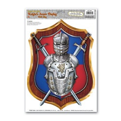 Knight's Armor Display Peel N Place (1/sheet)