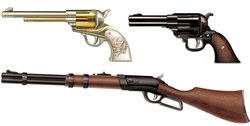 Western Weapon Cutouts