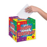Happy Birthday Card Box, 9 inch