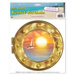 Sunset Porthole Peel N Place
