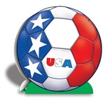 United States Soccer 3-D Centerpiece