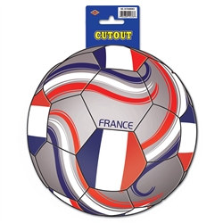 France Soccer Cutout