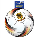 Germany Soccer Cutout