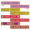 60's Street Sign Cutouts (4/pkg)