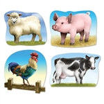 Farm Animal Cutouts