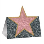 """Star"" Place Cards (12/Pkg)"