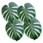 Tropical Palm Leaves (4 Leaves Per Package)