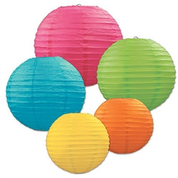 Colorful Paper Lantern Assortment