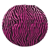 Cerise and Black Zebra Print Paper Lanterns (3 Per Package)