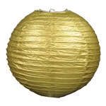 Gold Paper Lanterns (3 Paper Lanterns Per Package)