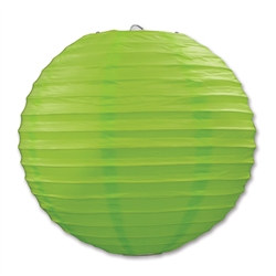 Light Green Paper Lanterns (3/Pkg)