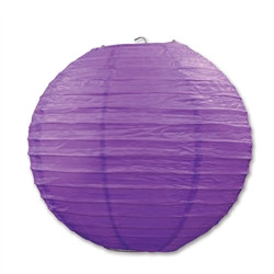 Purple Paper Lanterns (3/Pkg)